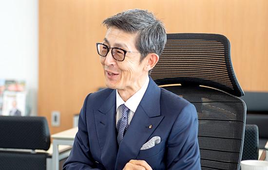 代表取締役社長 相川 良夫 イメージ